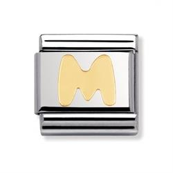 Buy Nomination Gold Letter M