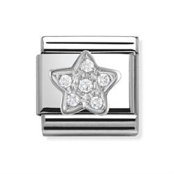 Buy Nomination Silver CZ Star