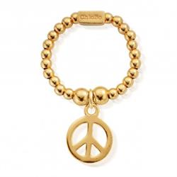 ChloBo Gold Peace Ring Standard