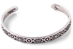 Path of Life Cuff in Rafaelian Silver