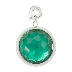 Green Optical Glass Charm