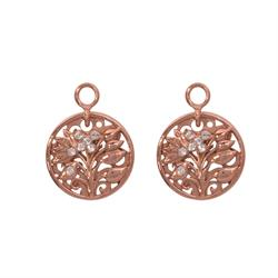 Fantasy Tree Rose Gold Coin Drops