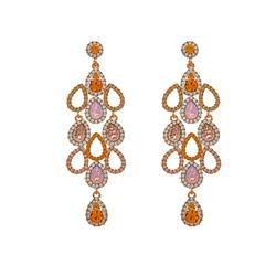 Chloe Topaz Earrings