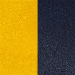 Yellow / Navy Medium Leather