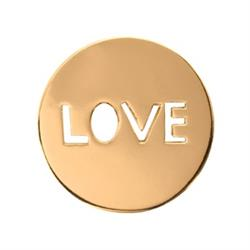 Sale Nikki Lissoni Gold Love It Is Small Coin 23mm