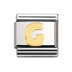 Buy Nomination Gold Letter G