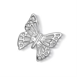 Silver Large Open Butterfly Treasure