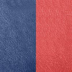 Wide Marine Blue / Rouille Leather