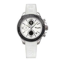 Thomas Sabo White Strap Black CZ Rebel at Heart Watch Sale