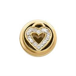 Gold Love Keeper Ring Coin
