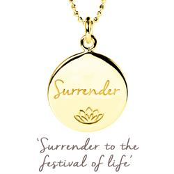 Persia Lawson Surrender Necklace in Gold