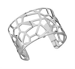 Buy Les Georgettes Wide Silver Girafe Cuff