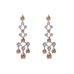 Nicola Light Silk Earrings