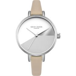 Ava Nude Leather Watch