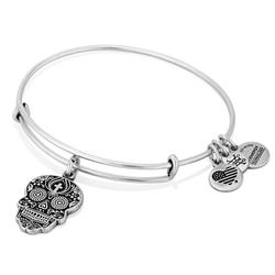 Calavera Bangle in Rafaelian Silver