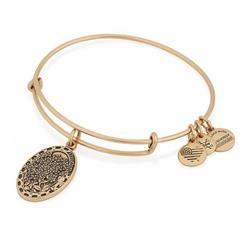 Alex and Ani Because I Love You, Daughter in Rafaelian Gold Finish Sale