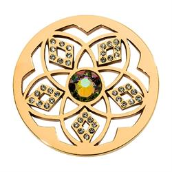 Charming Flower Gold Coin 33mm