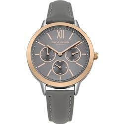 Heidi Rose Gold Grey Multi-Dial Watch
