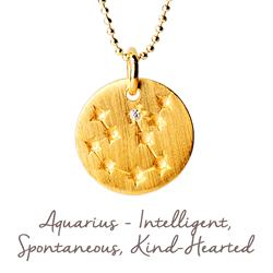 Buy Mantra Aquarius Star Map in Gold