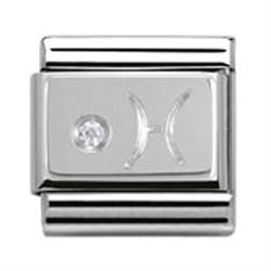 Buy Nomination Silver CZ Pisces