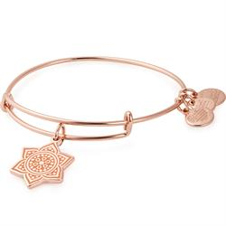 Sacral Chakra Bangle in Shiny Rose Gold