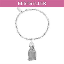 Mini Disc Tassel Bracelet