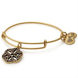 Endless Knot II bangle in Rafaelian Gold