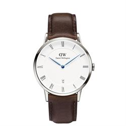 Daniel Wellington Dapper Bristol Silver Gents Watch