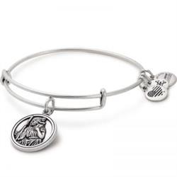 Saint Christopher Bangle In Rafaelian Silver