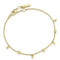 Ania Haie Gold Beaded Bracelet