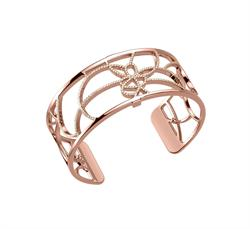 Rose Gold CZ Petales Medium Cuff