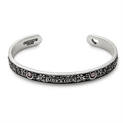 Fortune's Favor Cuff in Rafaelian Silver