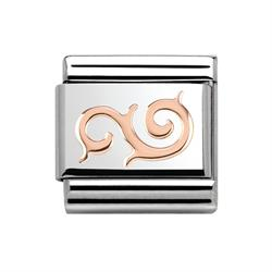 Rose Gold Swirl