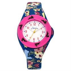 Floral and Pink Interchangeable Kids Watch
