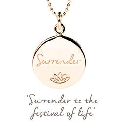 Persia Lawson Surrender Necklace in Rose Gold