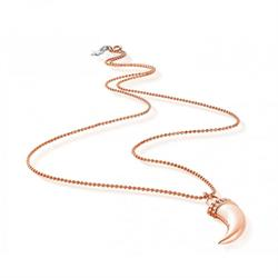 ChloBo Rose Gold-Plated Tusk Necklace
