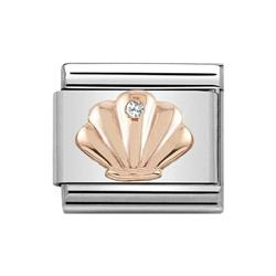 Buy Nomination Classic Rose Gold Symbols Shell Charm