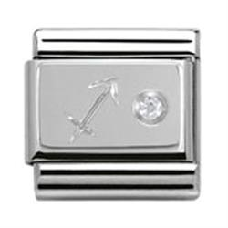 Buy Nomination Silver CZ Sagittarius