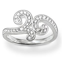 Thomas Sabo Silver Swirl Ring