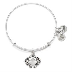Crab bangle in Rafaelian Silver