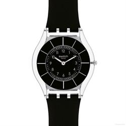 Swatch Black Classiness Skin Watch