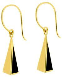 Dinny Hall Paragon Black & Gold Small Earrings