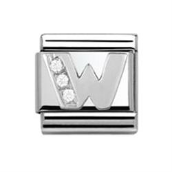 Buy Nomination SilverShine Letter 'W'
