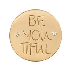 Outlet Thomas Sabo Gold BE-YOU-TIFUL Small Coin 23mm