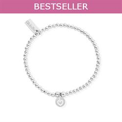Cute Mini Heart in Circle Bracelet