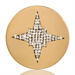 Starshine Gold Coin 33mm