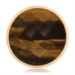Gold Tigers Eye Coin 33mm