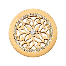 Glamorous Ornament Gold Coin 23mm