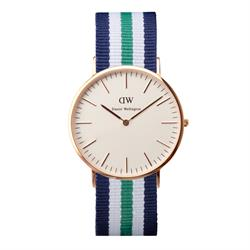 Daniel Wellington Mens Nottingham Watch in Rose Gold