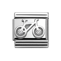 Silver CZ Bicycle